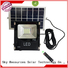 bifacial best solar powered flood light with good price for home use