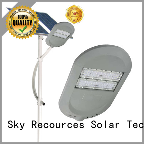 SRS solar street lights factory for shed