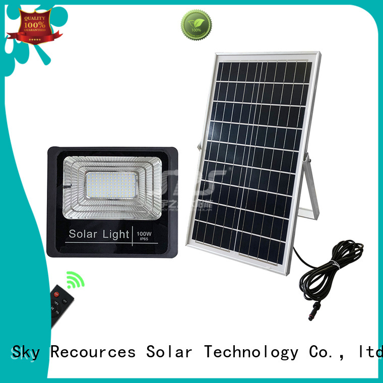 SRS cheap solar flood lights wholesale for outside
