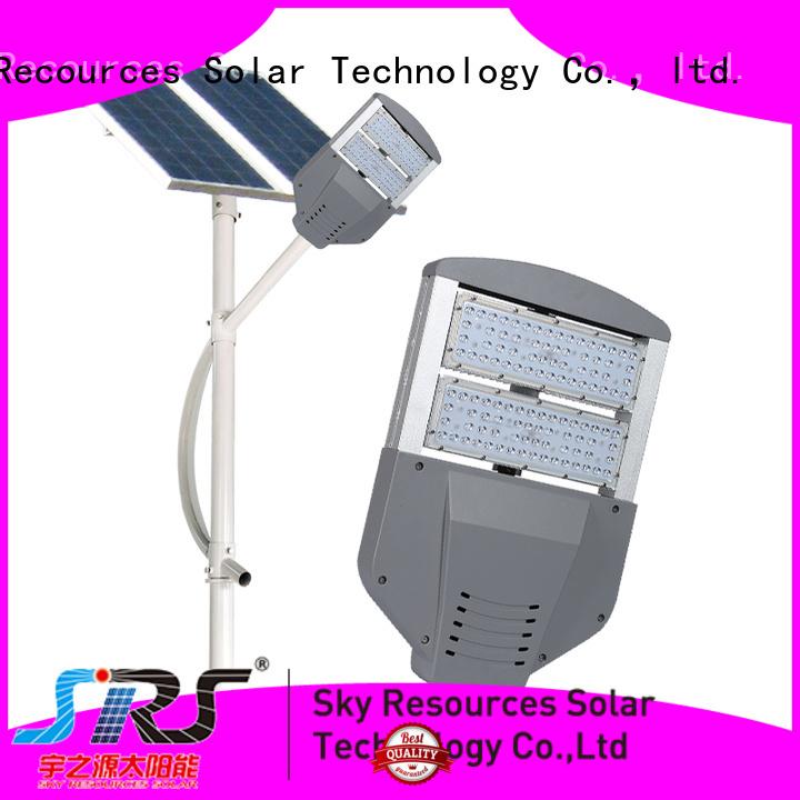 SRS solar panel street light factory for garden
