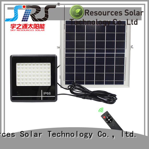 advantages of solar flood lights project for outside