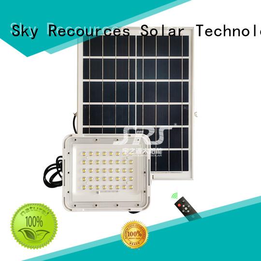 SRS solar flood light series for village