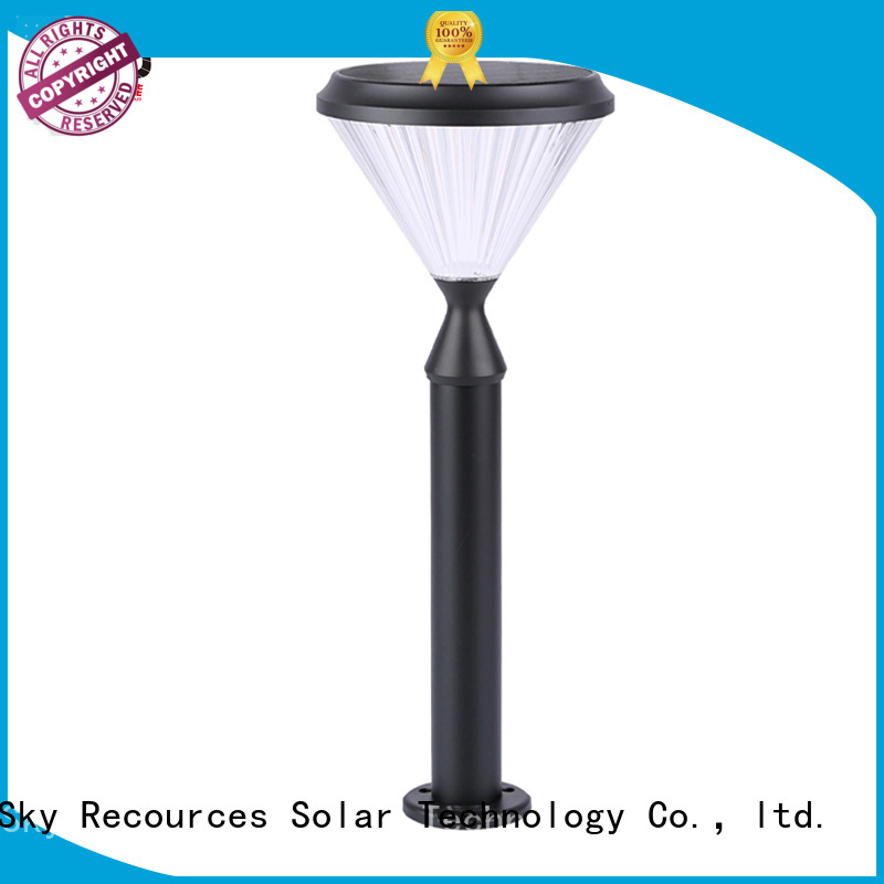 SRS best solar lawn lights system for patio