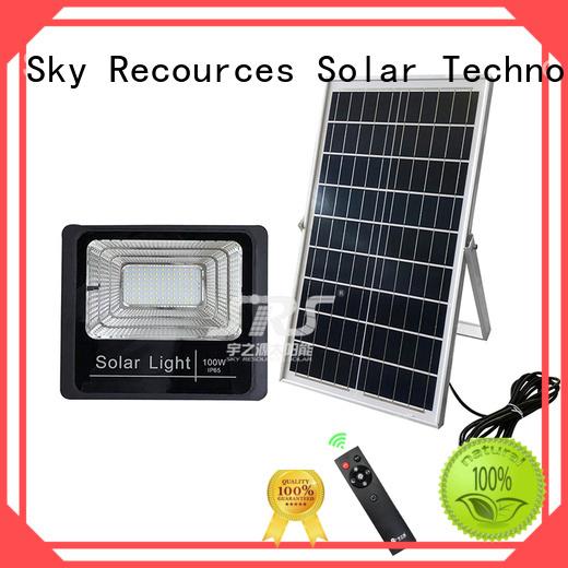 integrated cheap solar flood lights certification for village