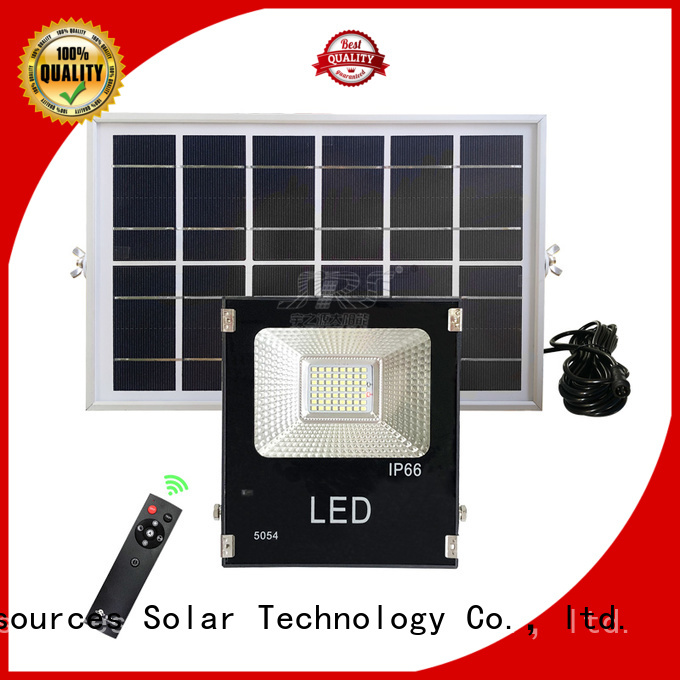 SRS integrated solar powered outdoor flood lights wholesale for village