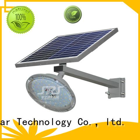 fix solar street light set with battery for school