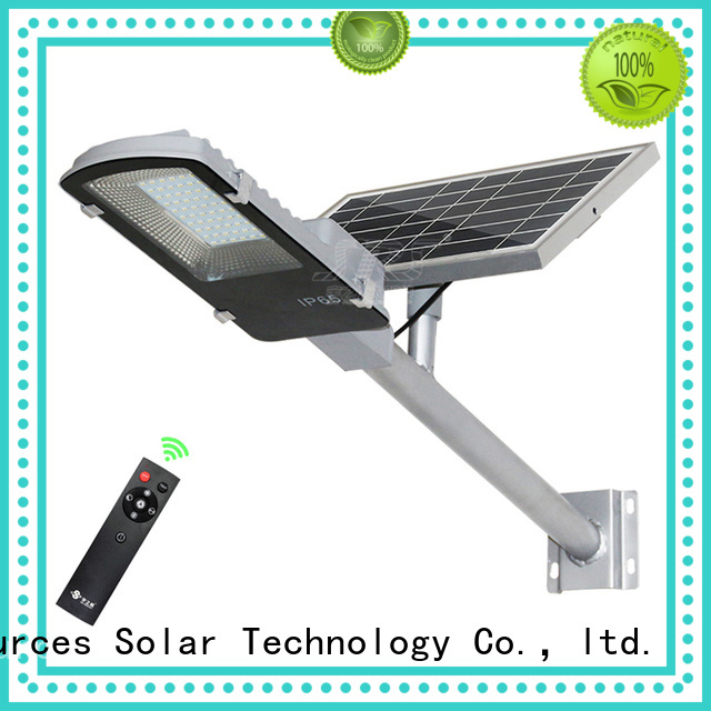 SRS fixture solar garden street light price list for garden