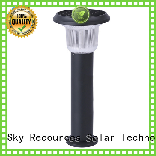 SRS outdoor solar lamp lights working for trees