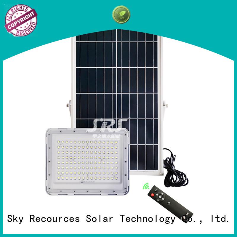 integrated solar powered led flood light wholesale for village