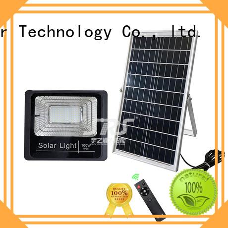 SRS 300w solar panel flood light certification for village