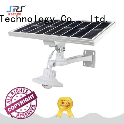 SRS fix solar street light 60w for flagpole