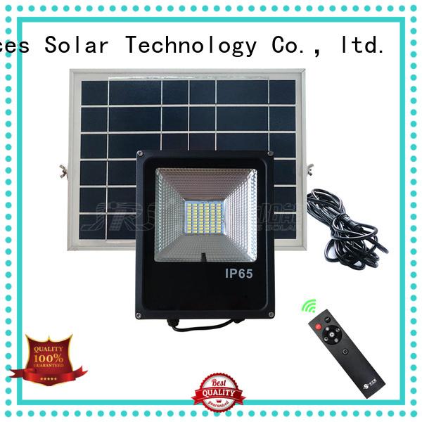 SRS solar led sensor floodlight wholesale for village
