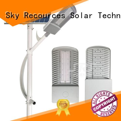 custom solar street light installation supply for home