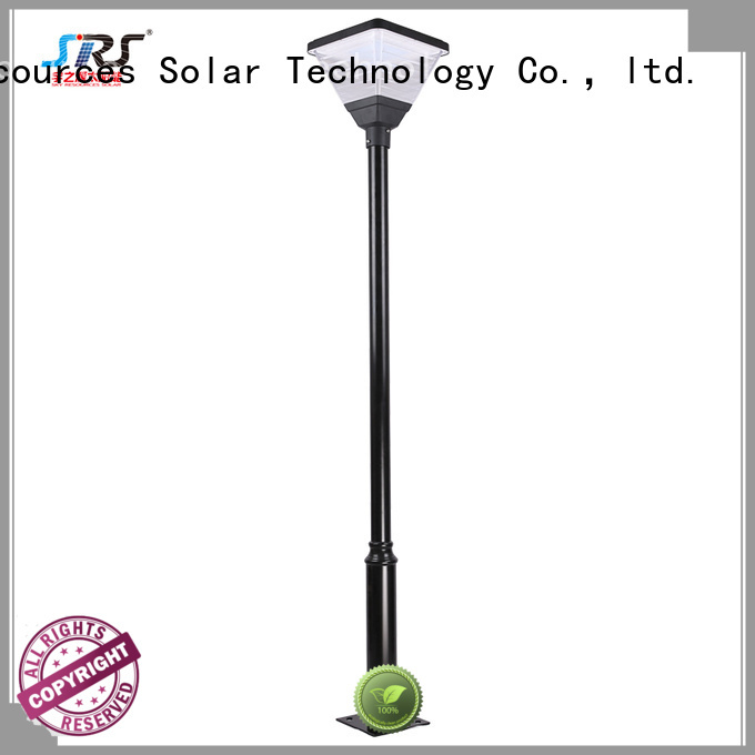 SRS outdoor solar garden lights products for walls
