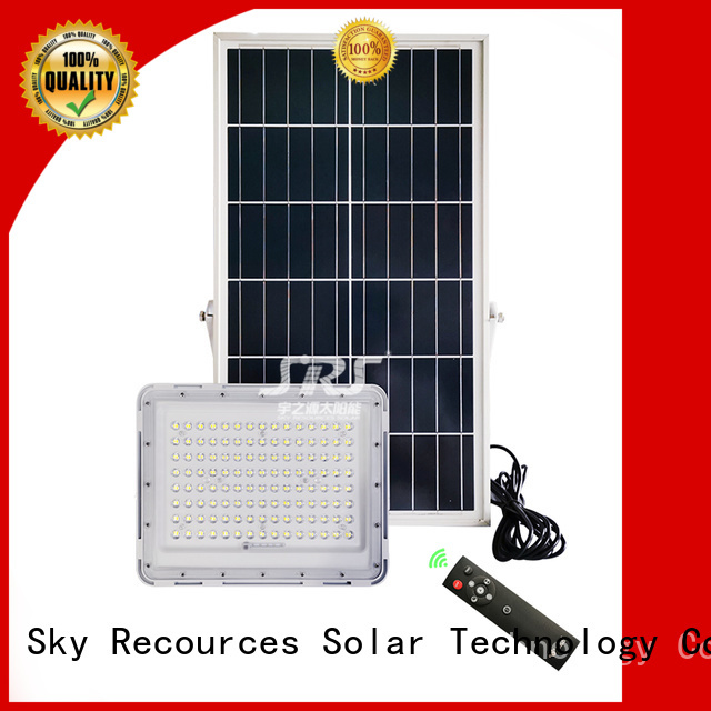 integrated solar panel flood light 100w with good price for home use