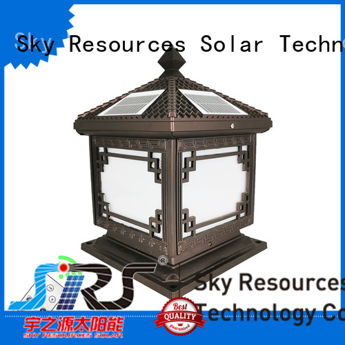 SRS energy led solar lawn lights for business for pathway
