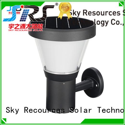 SRS high powered best solar lights for yard manufaturer for posts