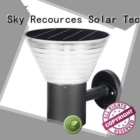SRS advantages of solar lawn lanterns manufaturer for posts