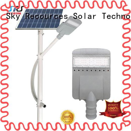 SRS custom solar street lamps manufaturer for outside
