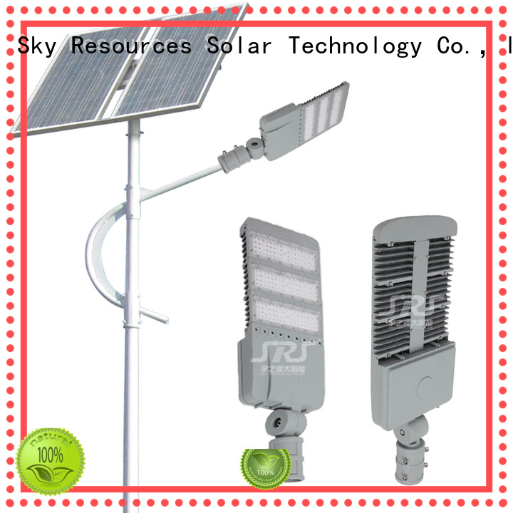 SRS 60w solar powered led lights factory for outside