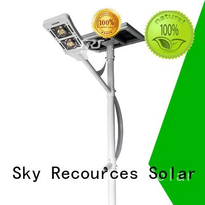 SRS solar powered street lamp manufaturer for home