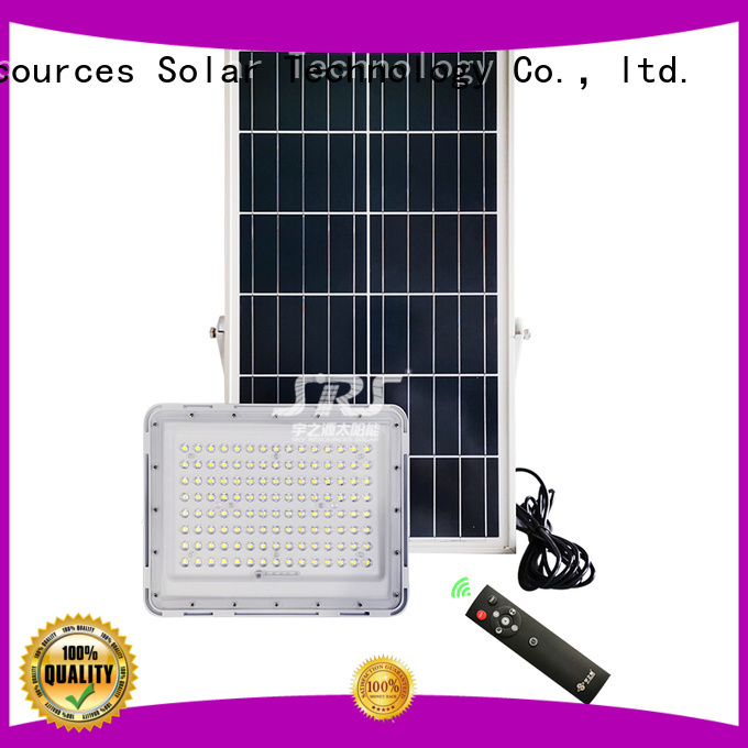 SRS commercial solar powered flood lights outdoor with good price for village