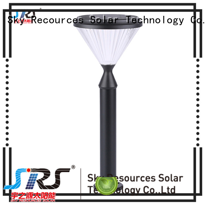 SRS high powered solar led lawn lights system for patio