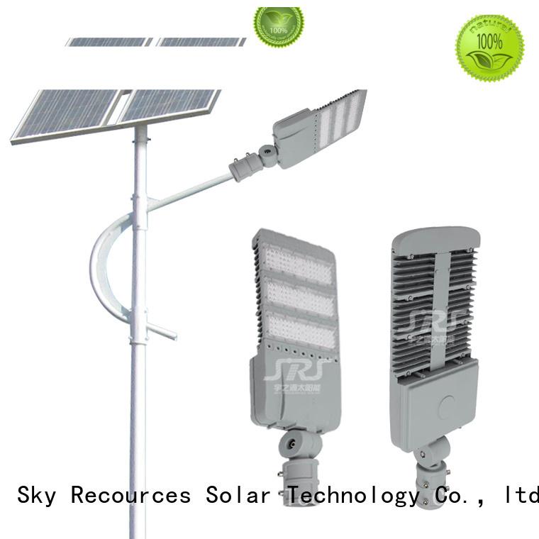 custom solar street light post apply for home