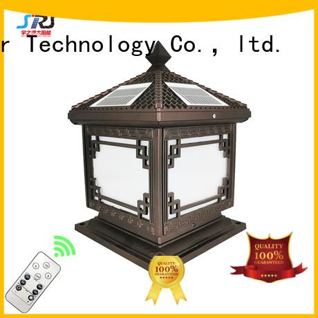 SRS Latest solar led pillar lights for business for inside
