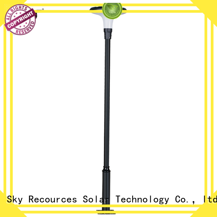 SRS smart solar powered garden lights make in China for trees