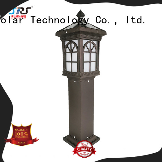 SRS high powered solar led lights for outside system for posts