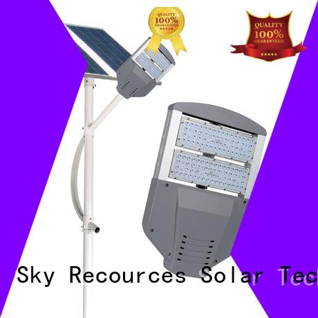 SRS buy solar led street light pole apply for shed