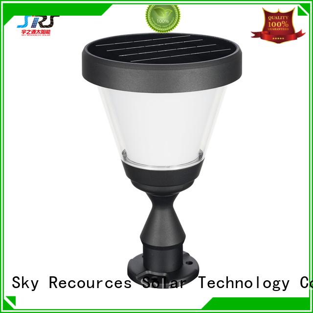 SRS solar energy garden lights manufaturer for posts