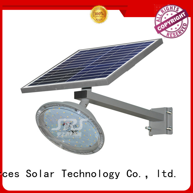 SRS fix solar led lights manufacturers specification for fence post