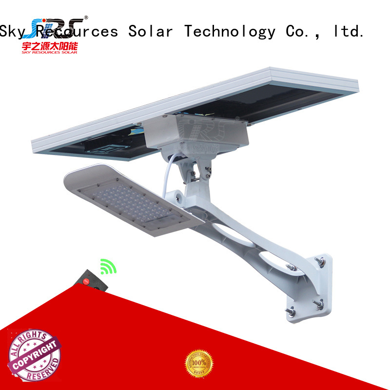 SRS solar light manufacturer specification for garden