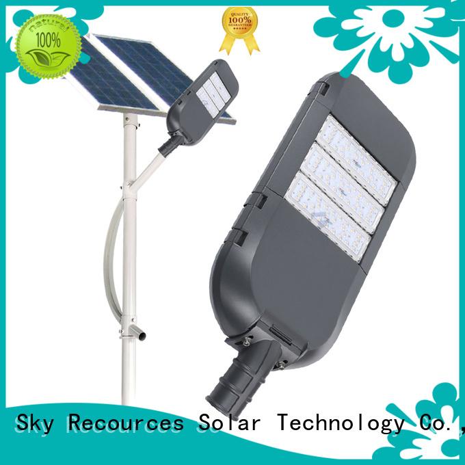 SRS integrated solar led street lights supply for shed