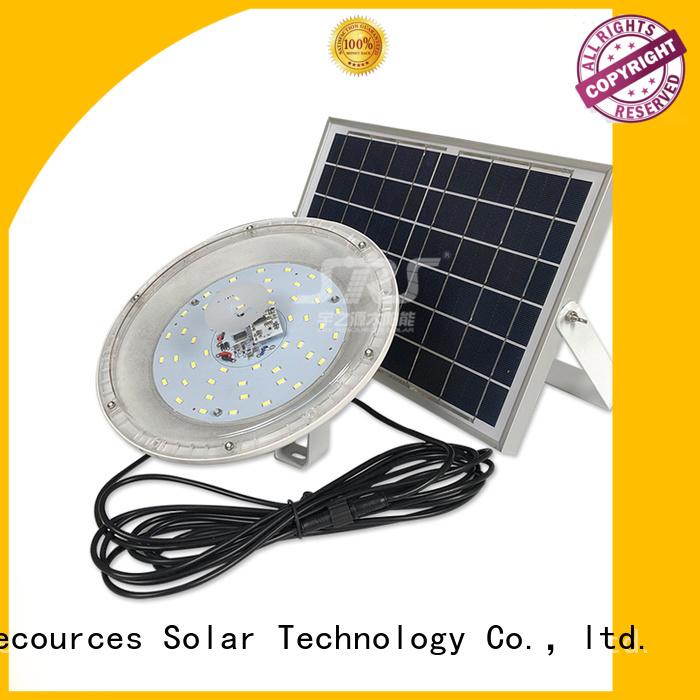 SRS smart commercial solar powered flood lights outdoor certification for village