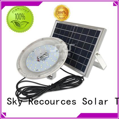 SRS solar led sensor floodlight with good price for outside