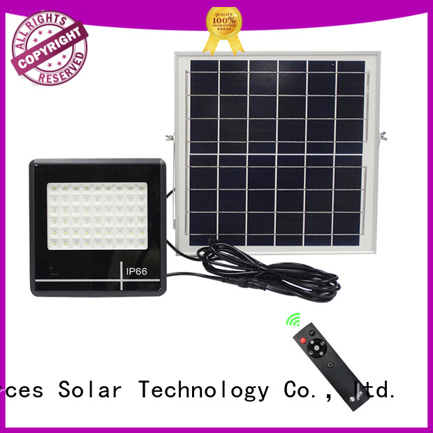 integrated solar led sensor floodlight wholesale for outside