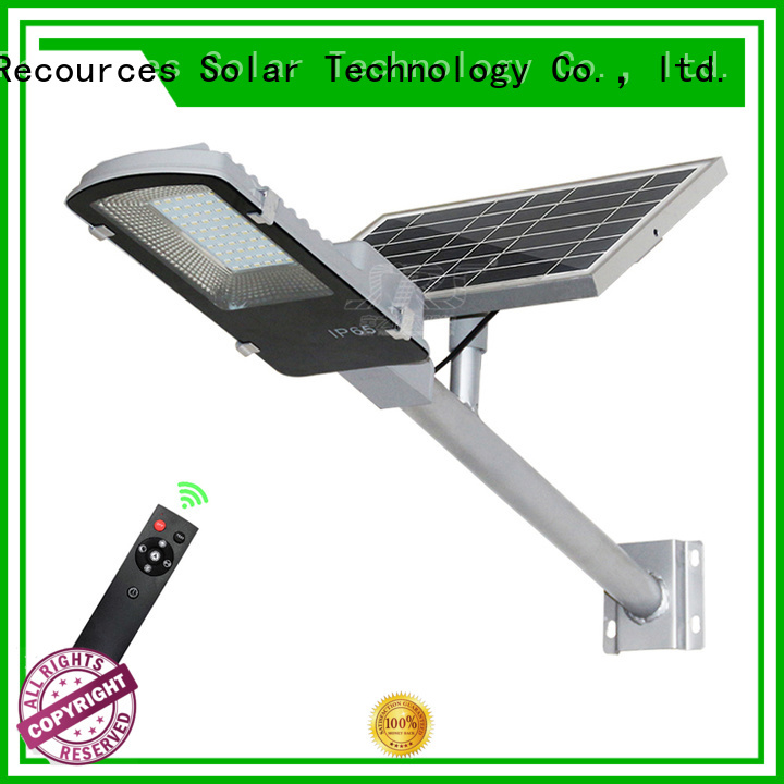 SRS decorative solar street lights diagram for garden