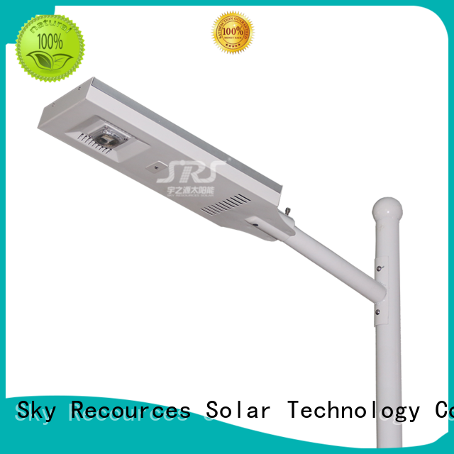 smart remote control 12w led solar street light components for home SRS