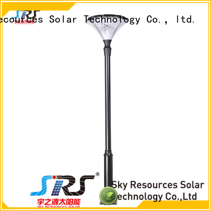 SRS integrating solar powered yard lights online service‎ for posts