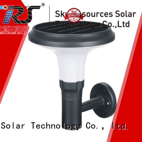 SRS yzycp08121061b solar wall lamp outdoor company for home