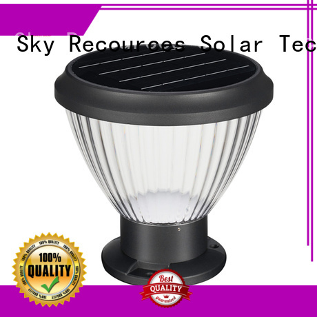 integrated solar lawn lamps system for trees